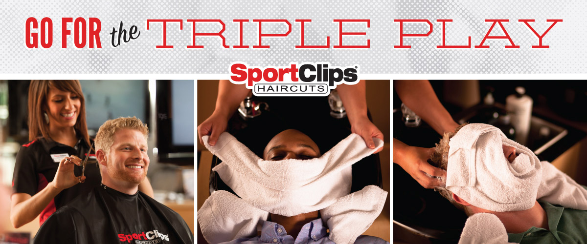 The Sport Clips Haircuts of Cornelius  Triple Play